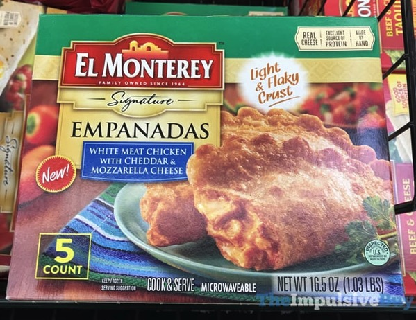 El Monterey White Meat Chicken with Cheddar  Mozzarella Cheese Signature Empanadas