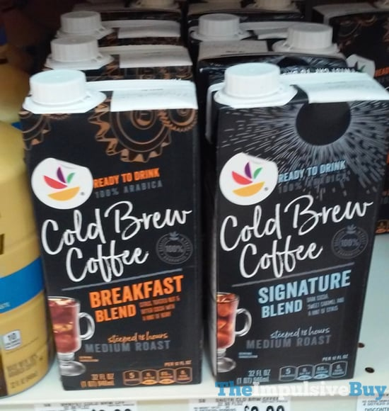 Giant Cold Brew Coffee  Breakfast Blend and Signature Blend