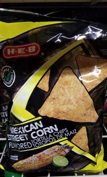 H E B Mexican Street Corn Tortilla Chips