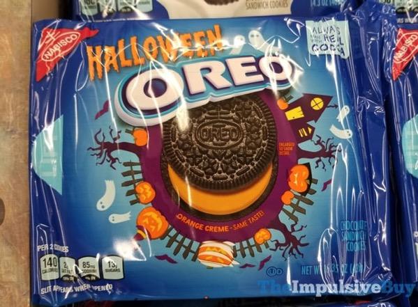 Halloween Oreo Cookies  2017