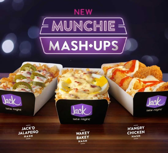 Jack in the Box Munchie Mash Ups