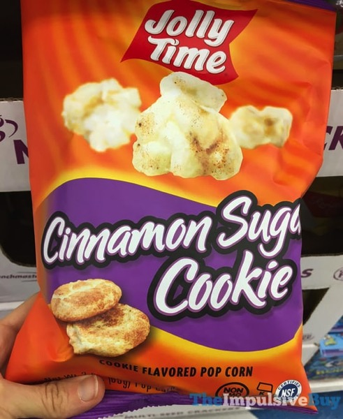 Jolly Time Cinnamon Sugar Cookie Popcorn