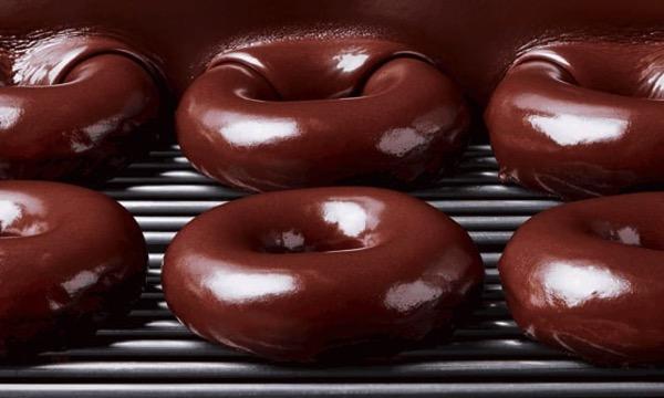 Krispy Kreme Chocolate Glaze Doughnuts