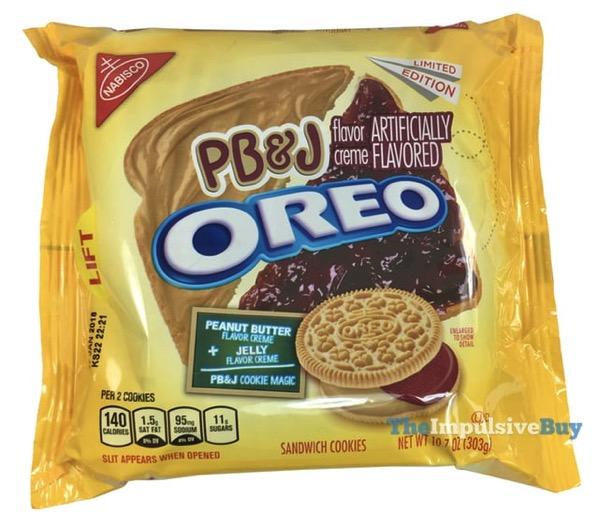 Limited Edition PB J Oreo Cookies