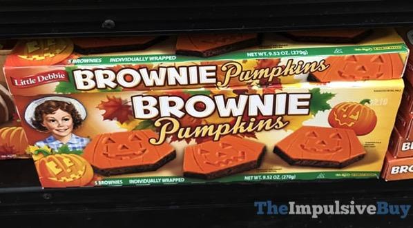 Little Debbie Brownie Pumpkins  2017