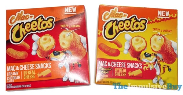 Mac n Cheetos Mac  Cheese Snacks  Creamy Cheddar  Flamin Hot