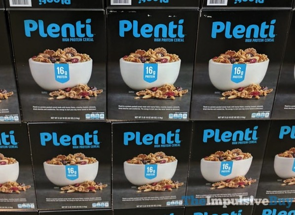 Plenti High Protein Cereal