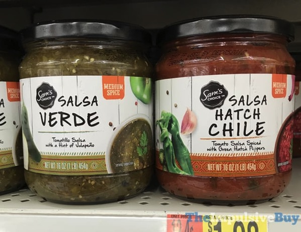 Sam s Choice Verde and Hatch Chile Salsas