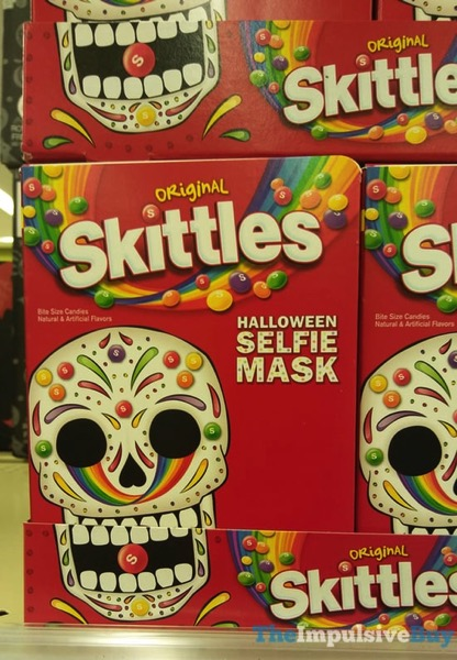 Skittles with Halloween Selfie Mask