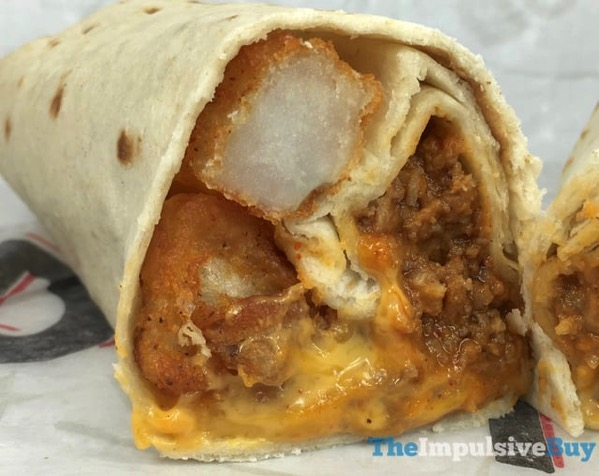 Taco Bell Beefy Potato rito 2