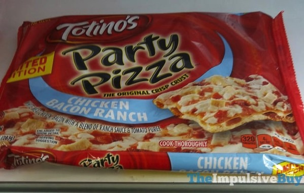 Totino s Limited Edition Chicken Bacon Ranch Party Pizza