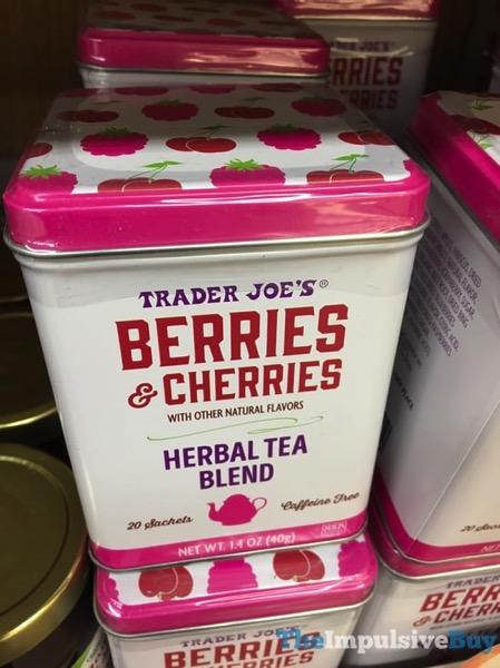Trader Joe s Berries  Cherries Herbal Tea Blend