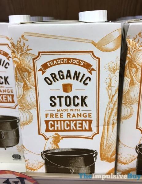 Trader Joe s Organic Stock made with Free Range Chicken