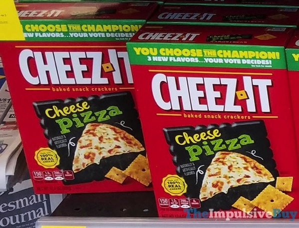 You Choose the Champion Cheese Pizza Cheez It