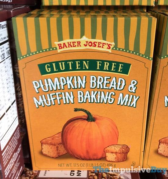 Baker Josef s Gluten Free Pumpkin Bread  Muffin Baking Mix  2017