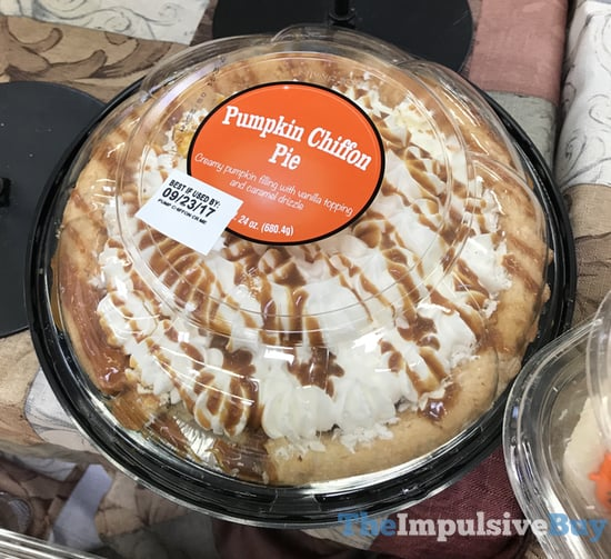 Brandless Pumpkin Shiffon Pie