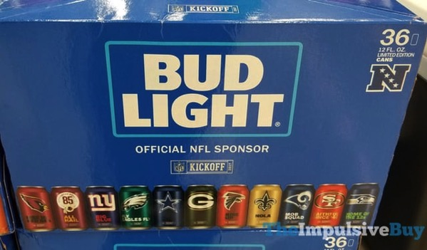 Dallas Cowboys Bud Light Cans 2017