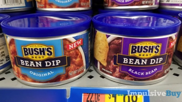 Bush s Best Bean Dips  Original and Black Bean