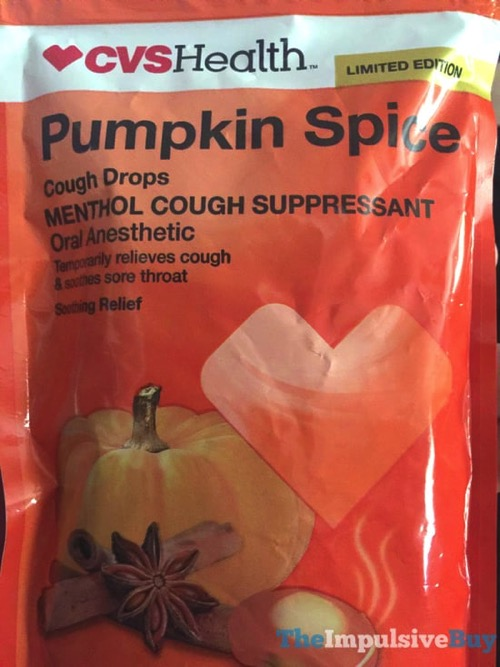 CVS Limited Edition Pumpkin Spice Cough Drops