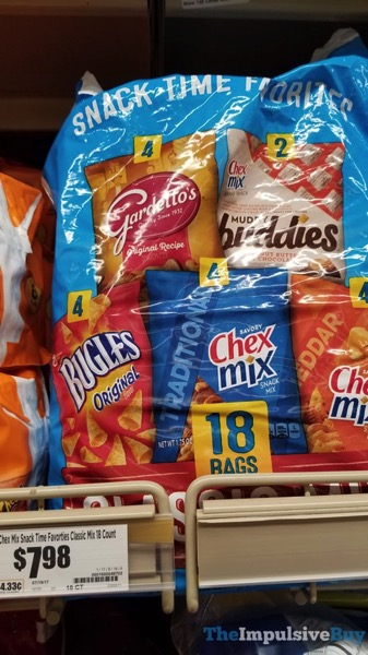 Chex Mix Snack Time Favorites Classic Mix