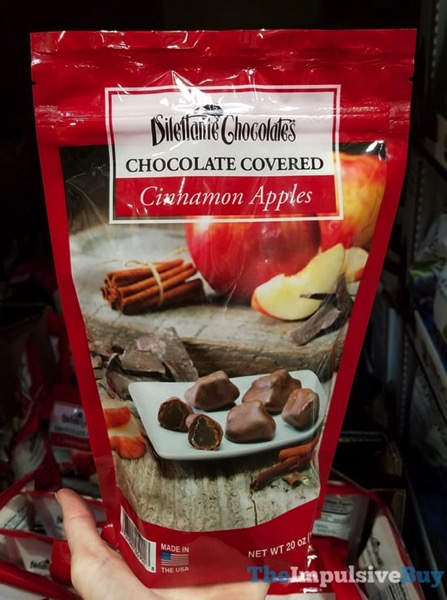 Dilettante Chocolates Chocolate Covered Cinnamon Apples