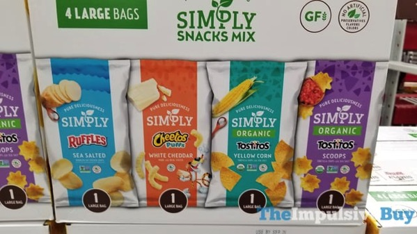 Frito Lay Simply Snacks Mix