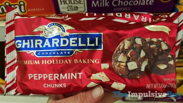 Ghirardelli Limited Edition Peppermint Chunks
