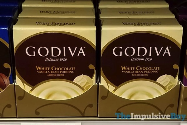 Godiva White Chocolate Vanilla Bean Pudding