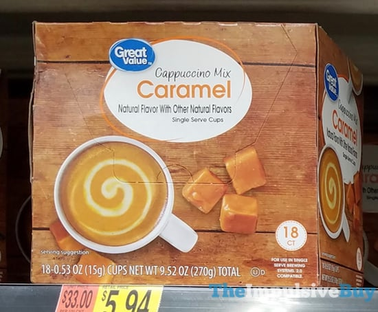 Great Value Caramel Cappuccino Mix