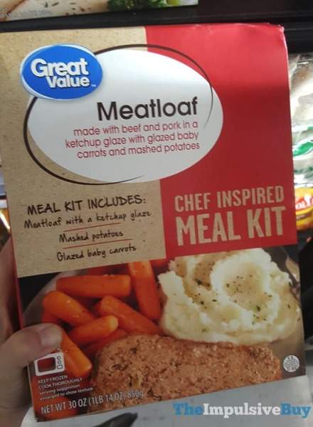Great Value Meatloaf Chef Inspired Meal Kit