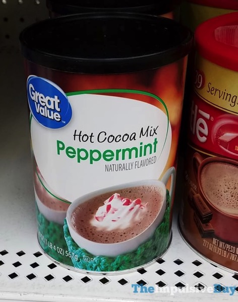 Great Value Peppermint Hot Cocoa Mix