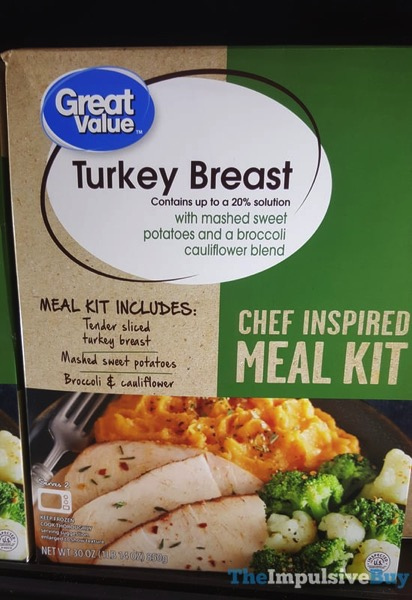 Great Value Turkey Breast Chef Inspired Meal Kit