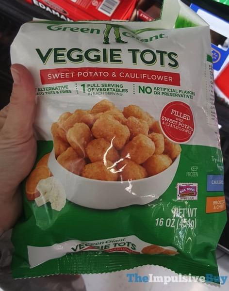 Green Giant Sweet Potato  Cauliflower Veggie Tots