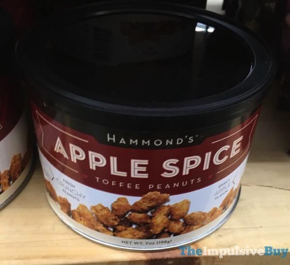 Hammond s Apple Spice Toffee Peanuts
