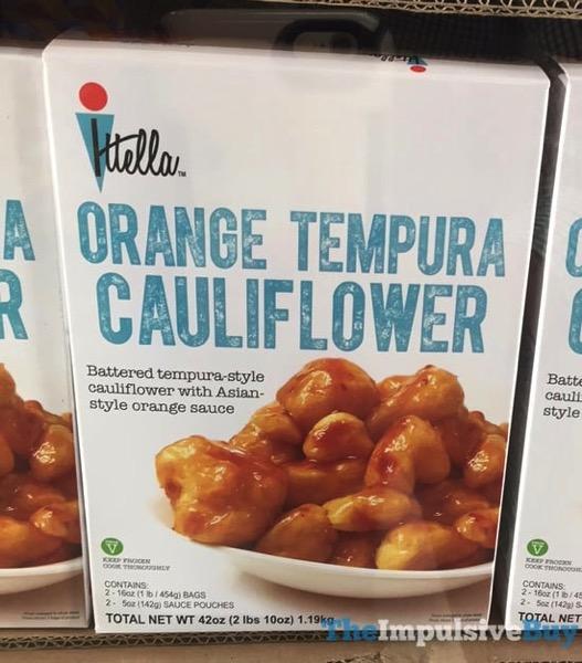 Ittella Orange Tempura Cauliflower