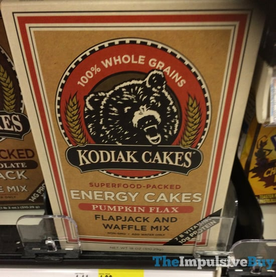 Kodiak Cakes Energy Cakes Pumpkin Flax Flapjack and Waffle Mix