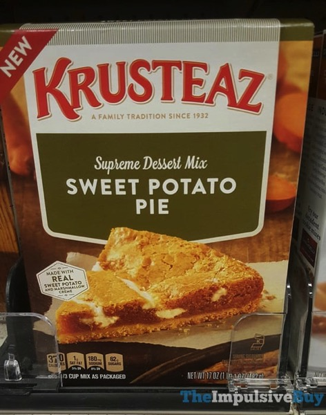 Krusteaz Supreme Dessert Mix Sweet Potato Pie