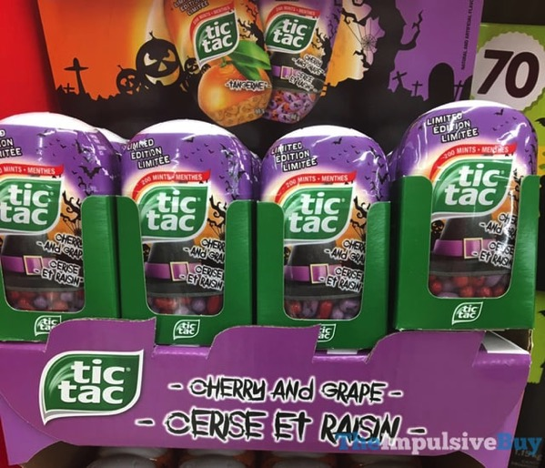 Limited Edition Cherry and Grape Tic Tac  Canada