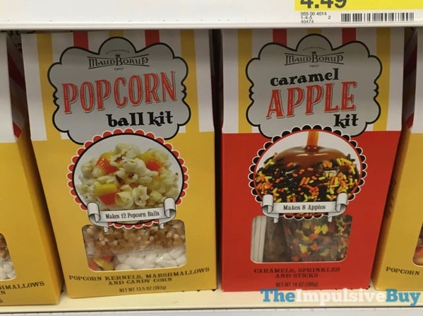 Maud Borup Popcorn Ball Kit and Caramel Apple Kit