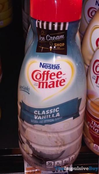 Nestle Coffee mate Ice Cream Shop Classic Vanilla