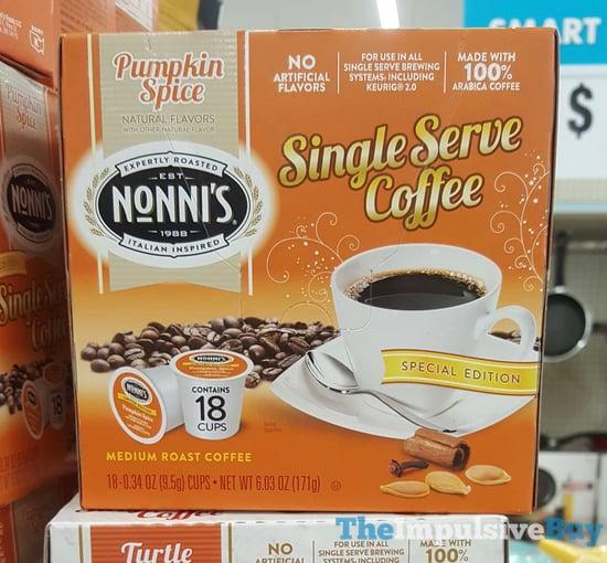 Nonni s Pumpkin Spice K Cups  2017