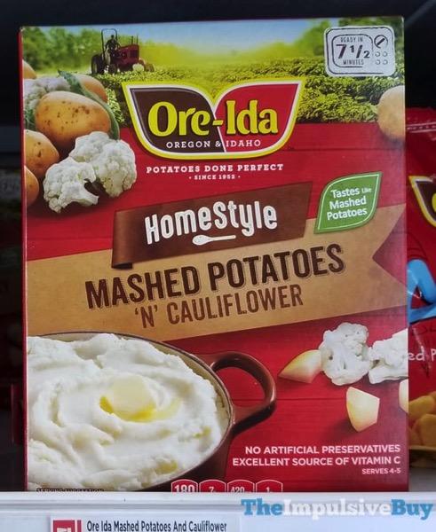 Ore Ida Homestyle Mashed Potatoes  N Cauliflower