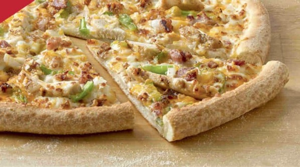 Papa John s Chicken Bacon Philly Pizza
