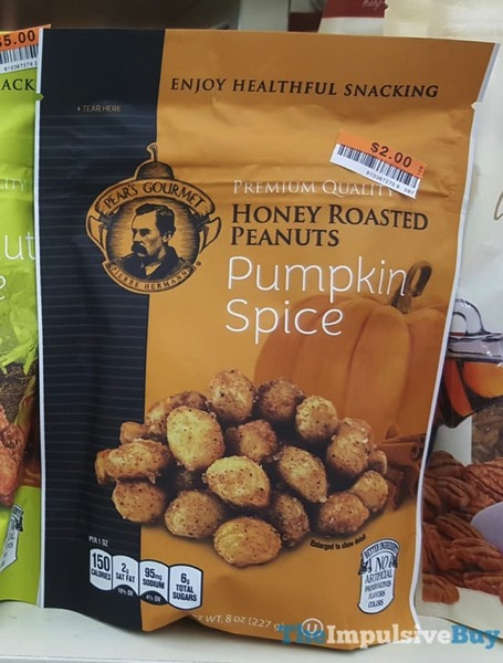 Pear s Gourmet Pumpkin Spice Honey Roasted Peanuts  2017