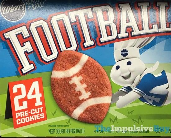 Pillsbury Football Pre Cut Cookies