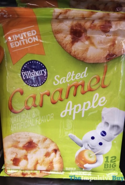 Pillsbury Limited Edition Salted Caramel Apple Cookie Dough