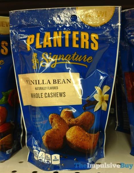 Planter Signature Vanilla Bean Whole Cashews