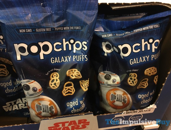 Popchips Aged White Cheddar Galaxy Puffs