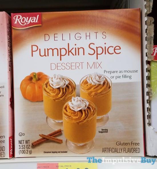 Royal Delights Pumpkin Spice Dessert Mix