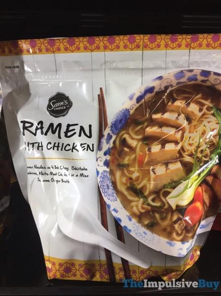 Sam s Choice Ramen with Chicken